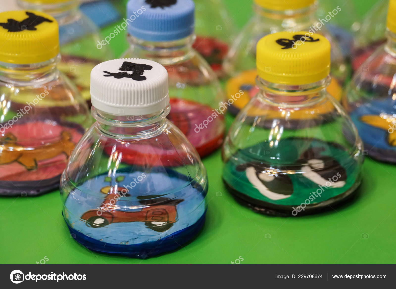 Art Craft Design Kid Toys Recycle Materials Stock Photo C Tarnrit