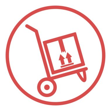 Delivery box icon vector illustration design isolated shipping icon