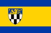 Fahne von Wilnsdorf in Nordrhein-Westfalen, Deutschland