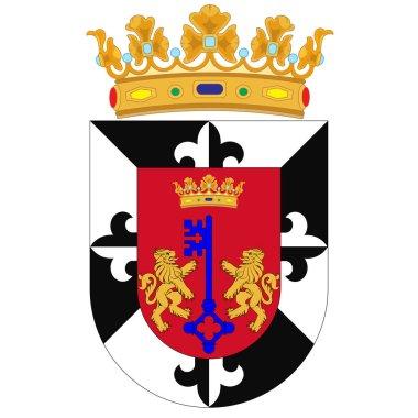 Coat of arms of Santo Domingo in Dominican Republic