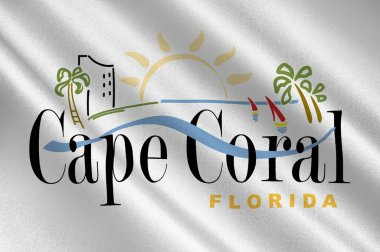Coat of arms of Cape Coral in Florida, USA