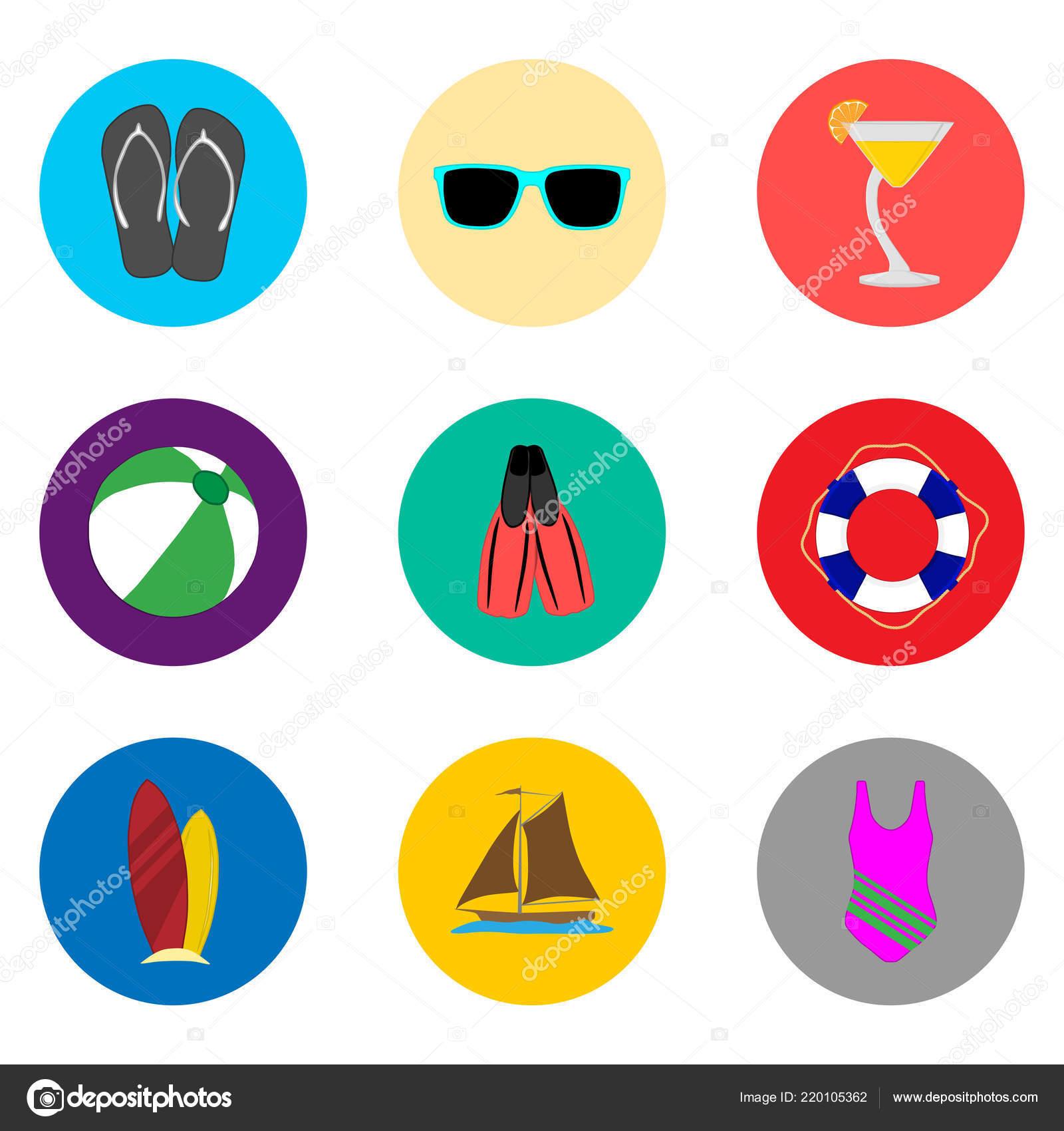 e8b95b45a Vector Icono Ilustración Logotipo Símbolos Sets Botones Colores ...