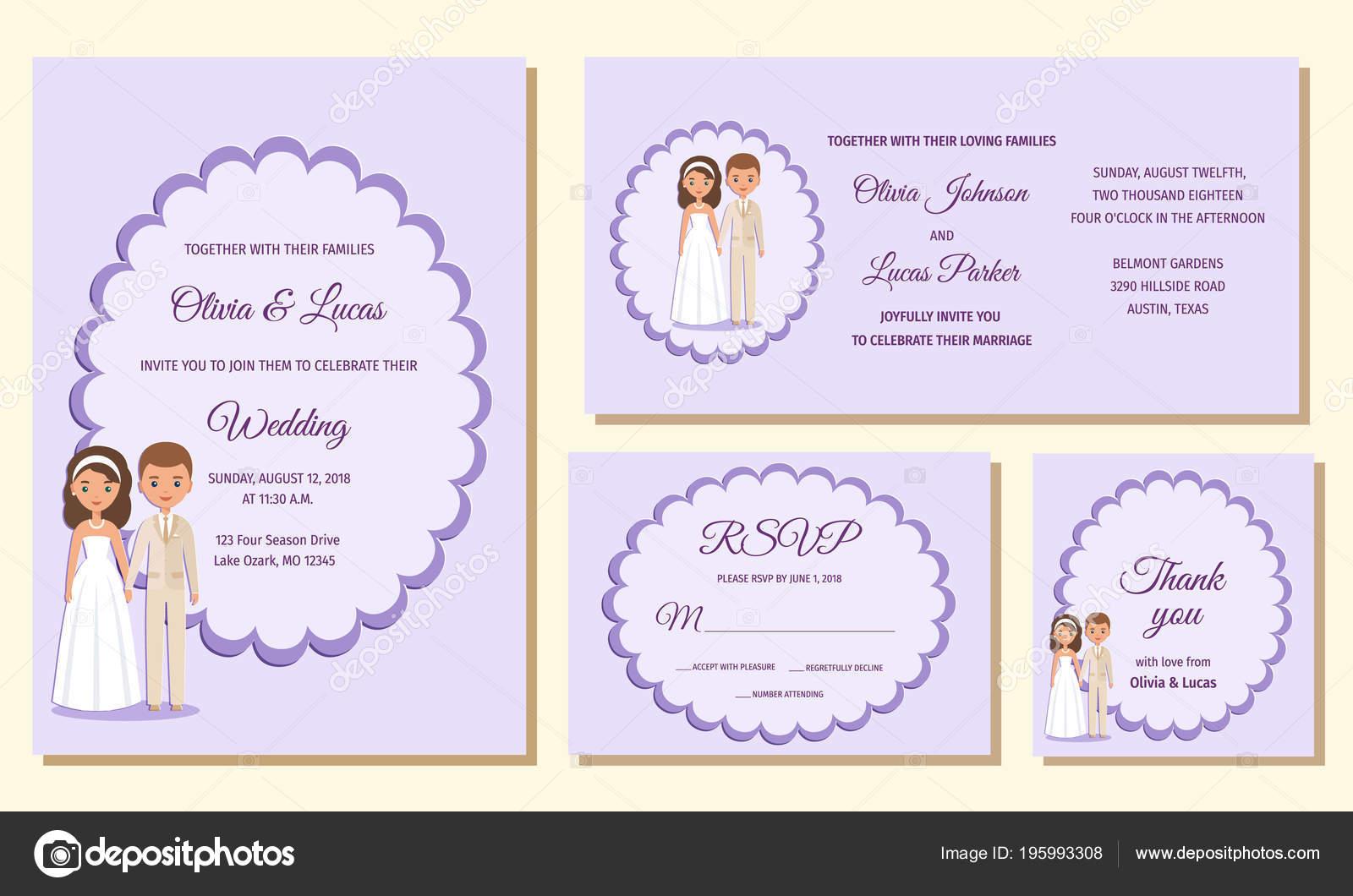 invitación boda rsvp tarjetas agradecimiento invitamos las