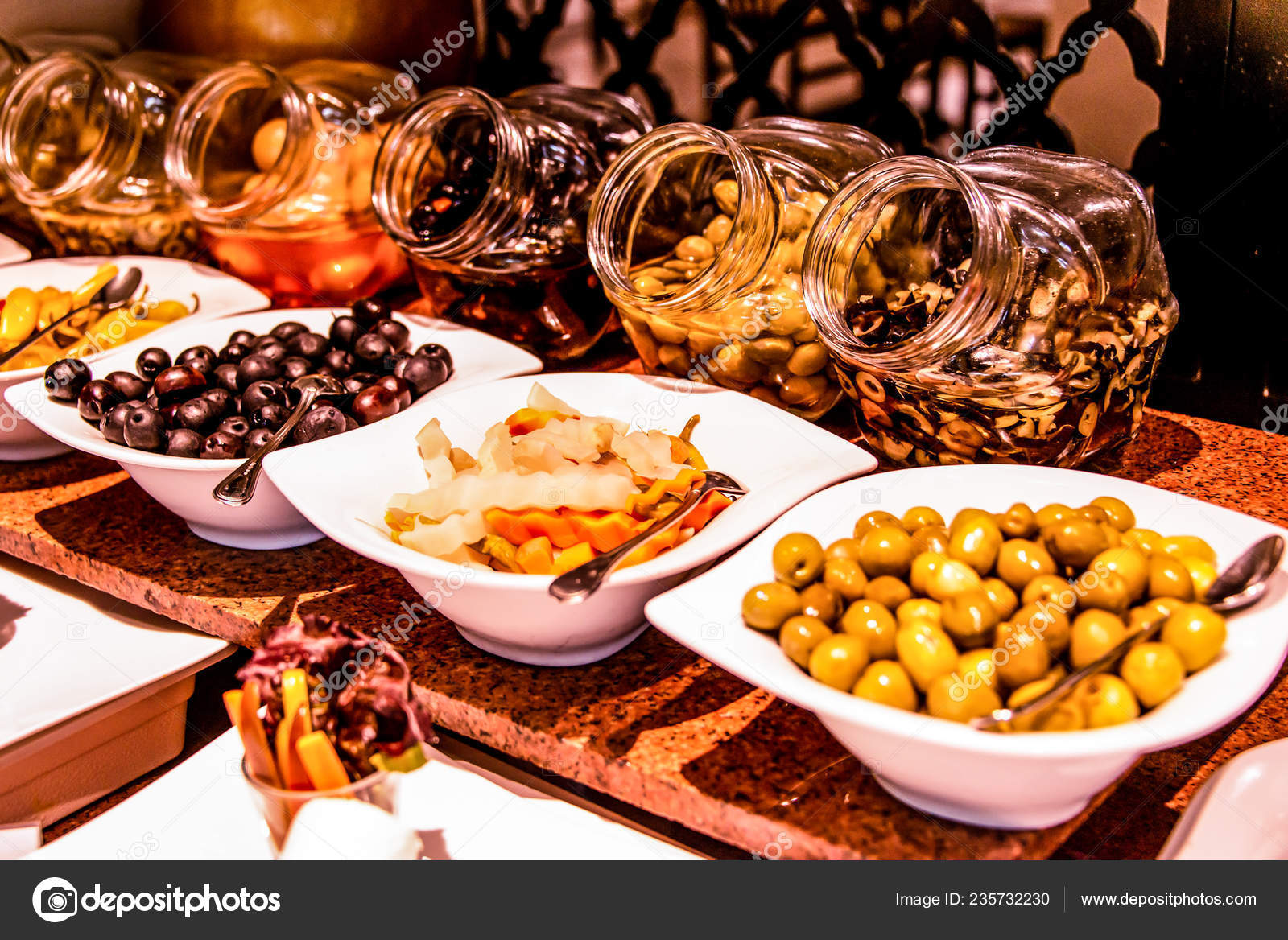 Variety Food Buffet Table Wine Snack Set Olives Cheese And Other Appetizer Italian Antipasti On Plate In Egypt Stock Photo Image By C Donogl 235732230