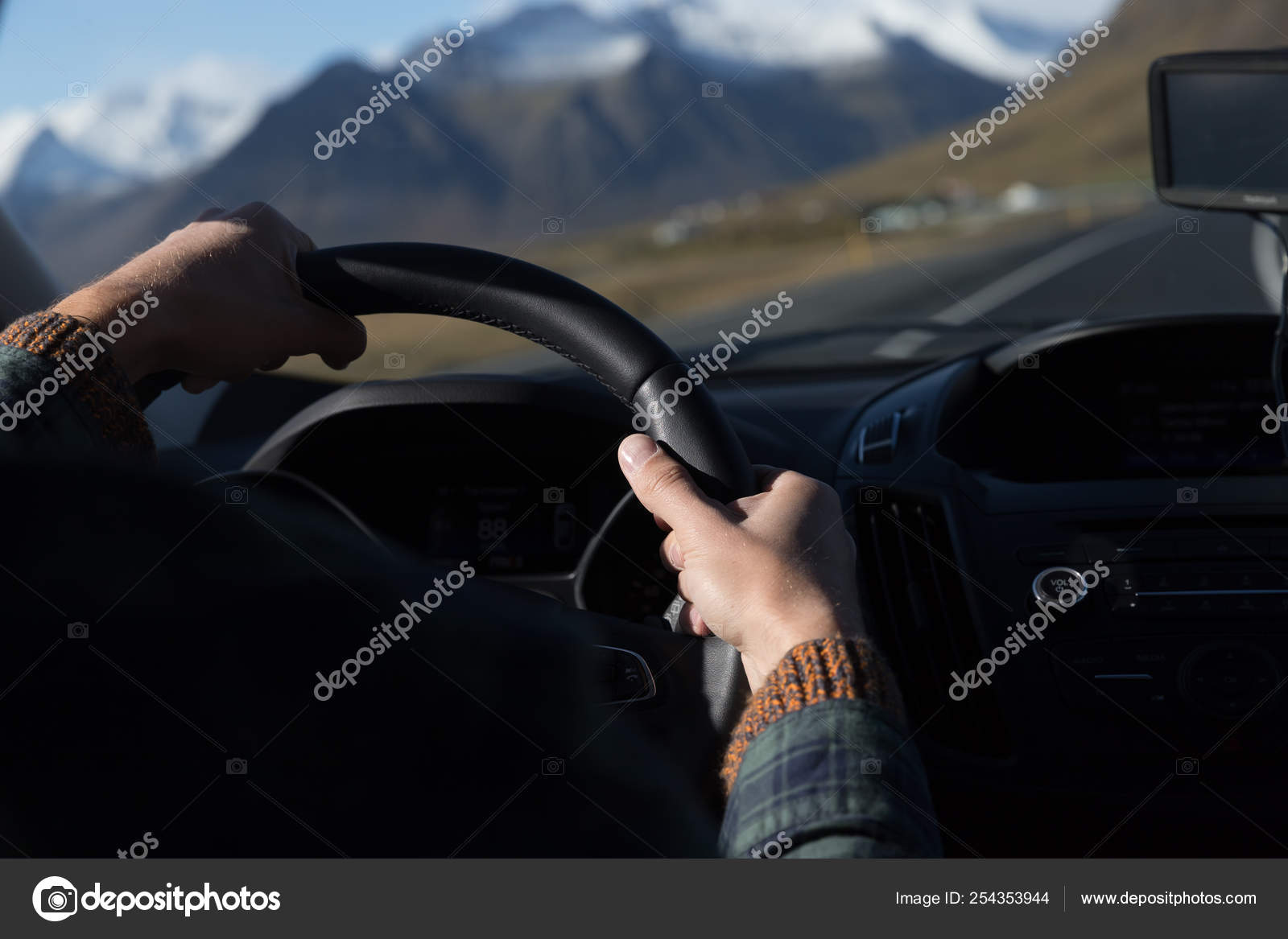 Road View Car Driving Stock Editorial Photo C Perrykerry 254353944