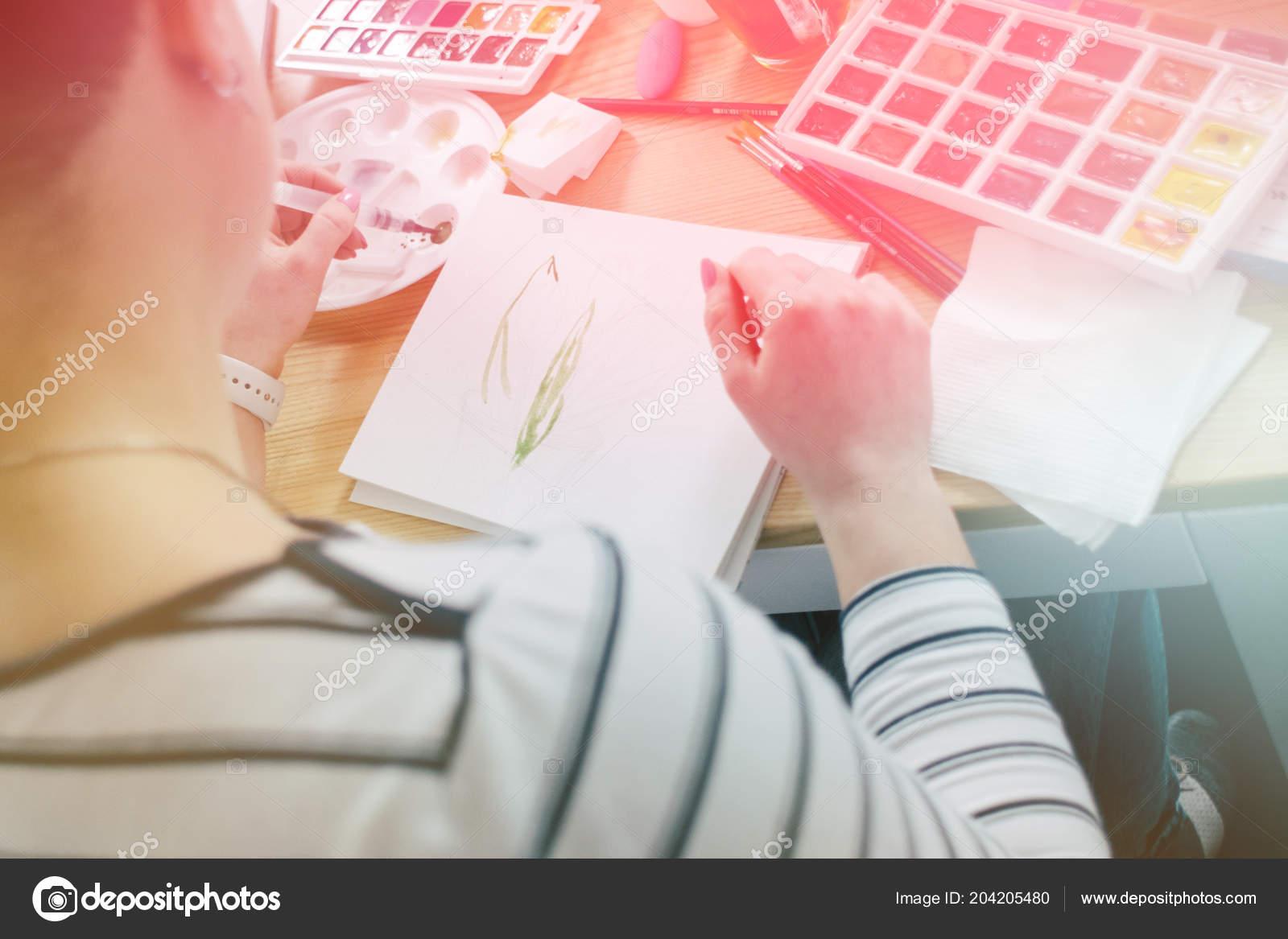 Kreative Inspiration Zeichnen Von Skizzen Oder Geniale Ideen