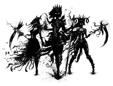 Dark souls standing in the wind