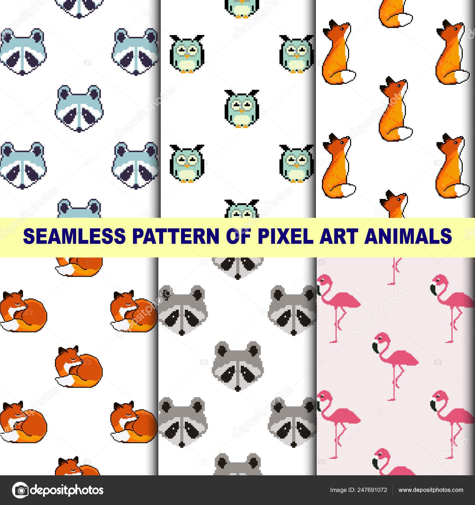 ᐈ Pixel Art Cute Stock Pictures Royalty Free Pixel Art Fox