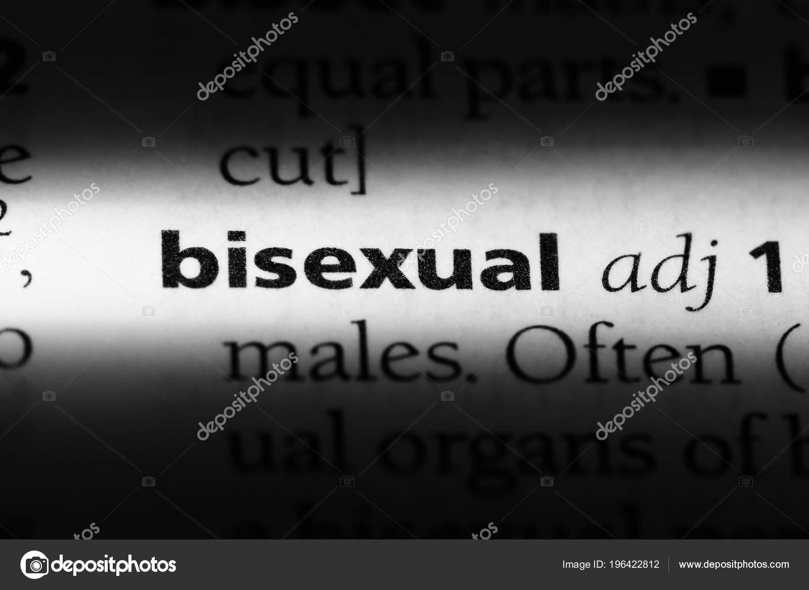 Que es bisexual diccionario