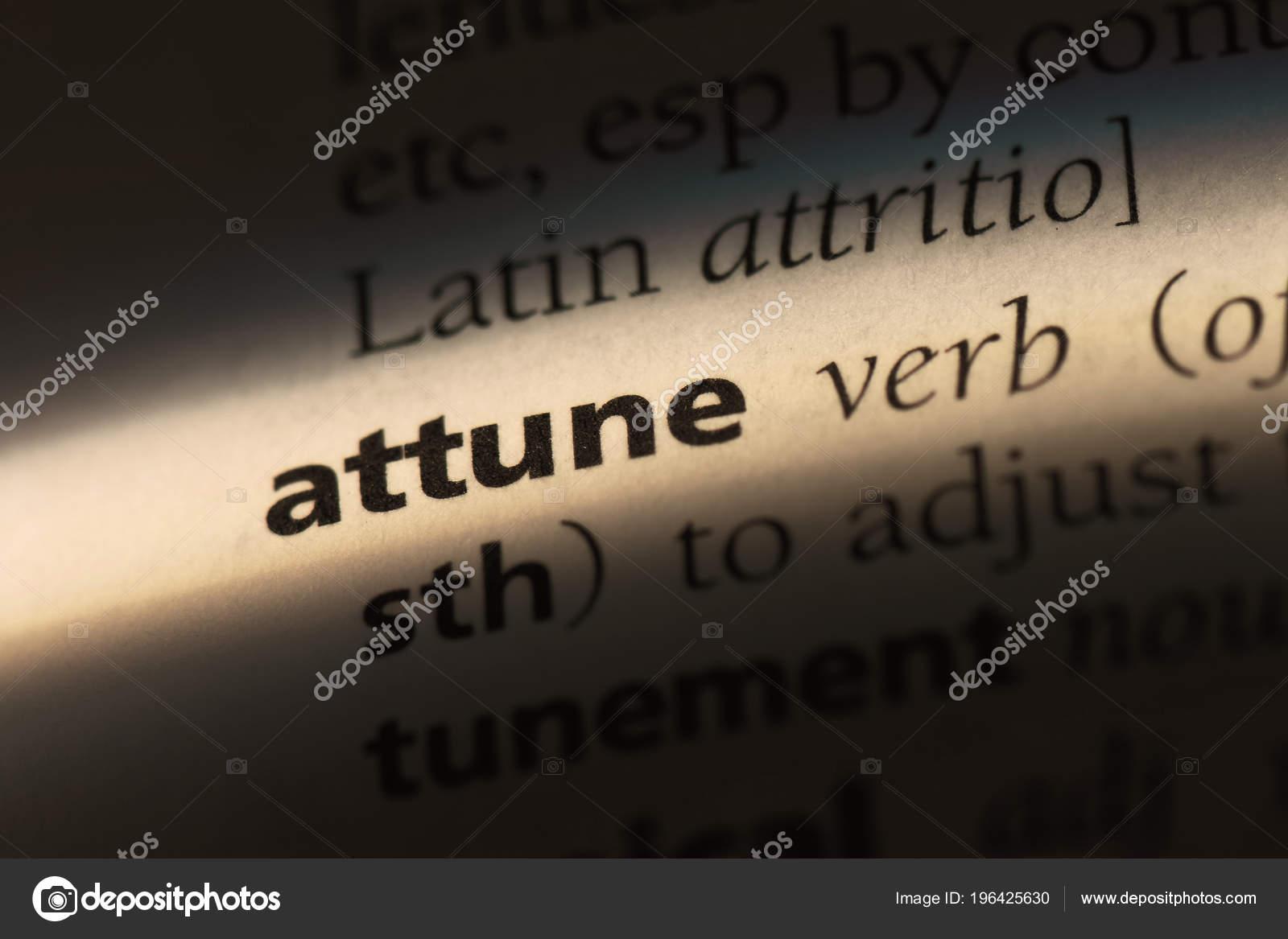 Attune definition