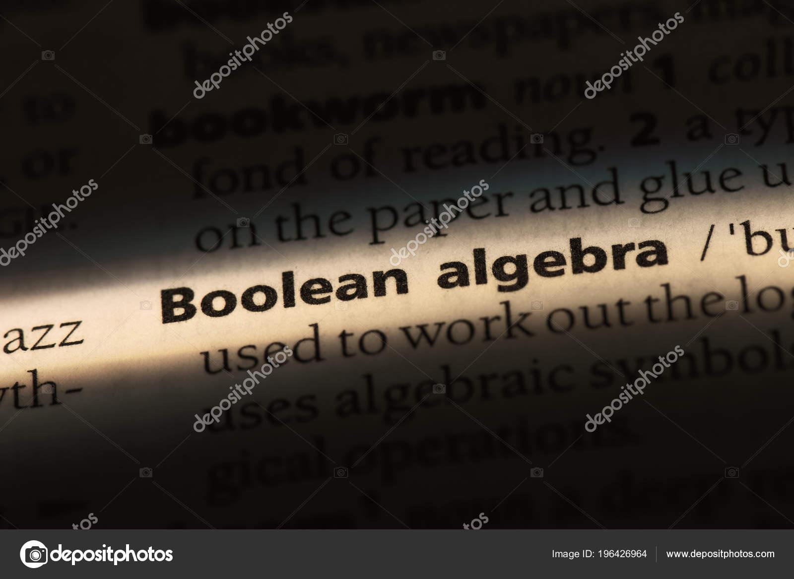 Boolean Algebra Ebook