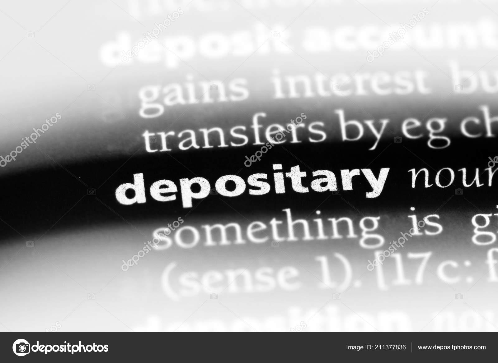 Sinonimo di depositare