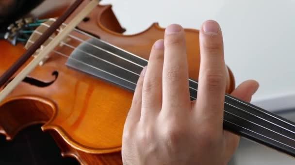 a zenész játszik egy hegedű, klasszikus török musicclose-up zenész játszik hegedű, klasszikus török zene