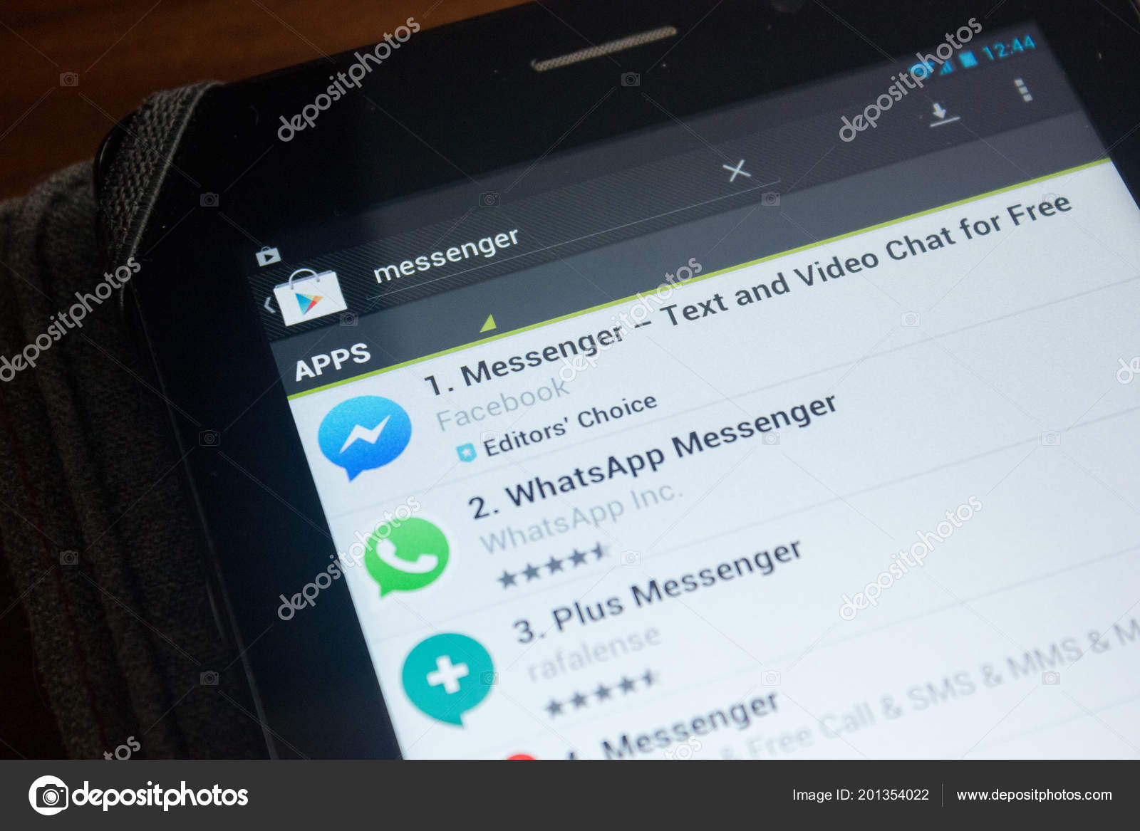 Ryazan Russia June 2018 Messenger Text Video Chat Free Icon – Stock