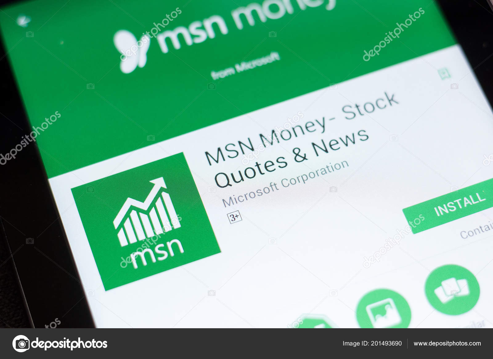 Stock Quotes Msn | Ryazan Russia June 2018 Msn Money Stock Quotes News Mobile Stock