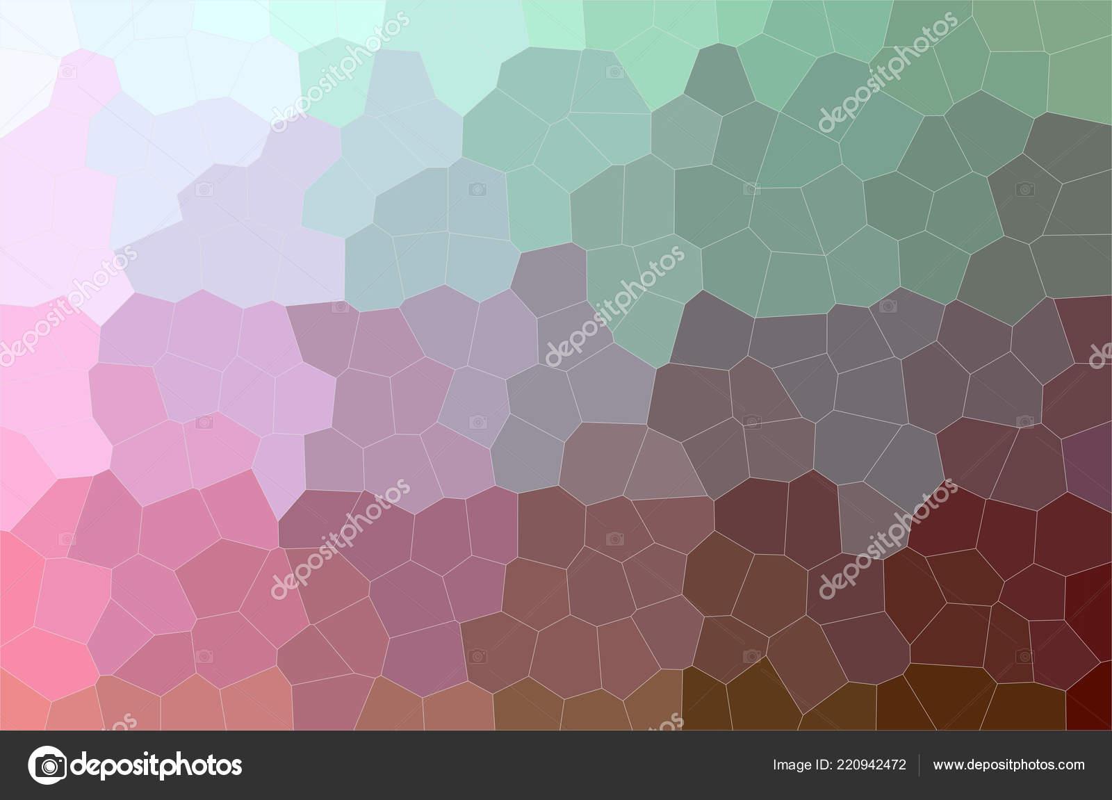 Illustration Violet Vert Moyen Taille Hexagone Peinture Fond Généré ...