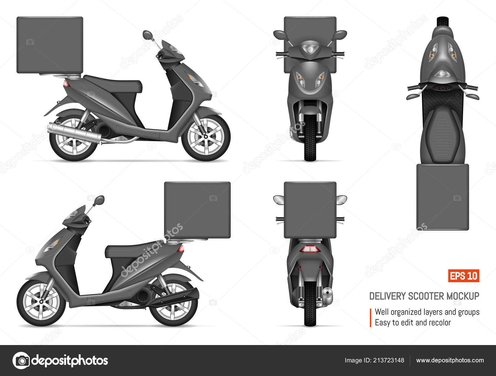 delivery scooter vector mockup white vehicle branding corporate identity view stock vector c imgvector 213723148 delivery scooter vector mockup white vehicle branding corporate identity view stock vector c imgvector 213723148