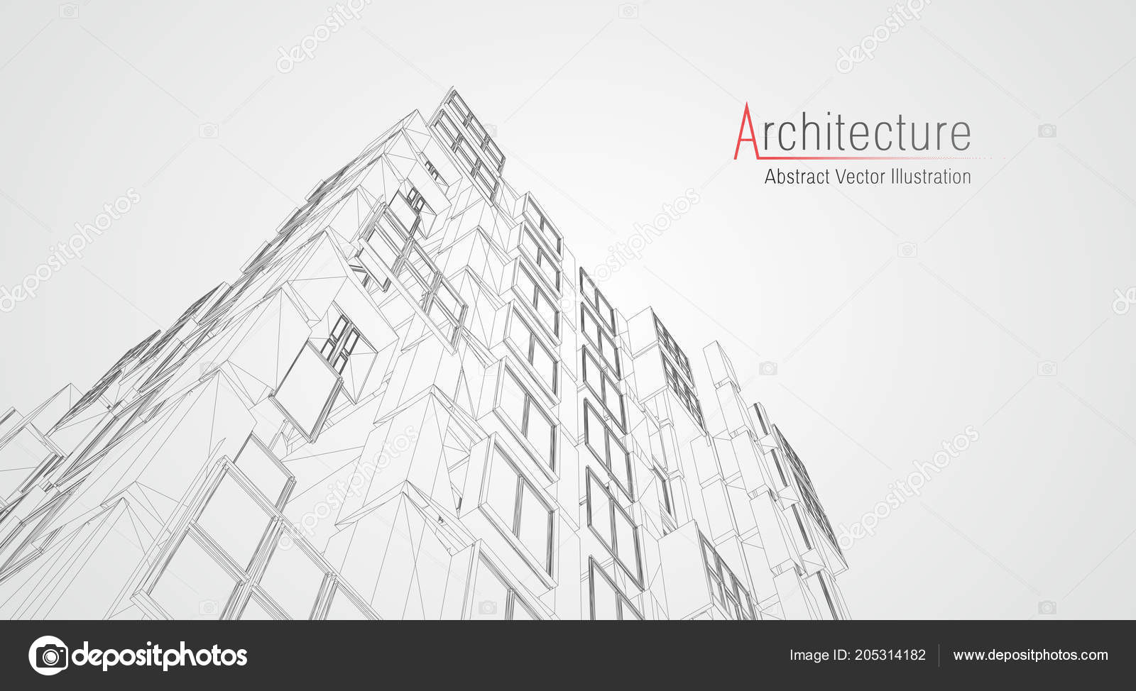 Estructura Metálica De La Arquitectura Moderna Concepto De