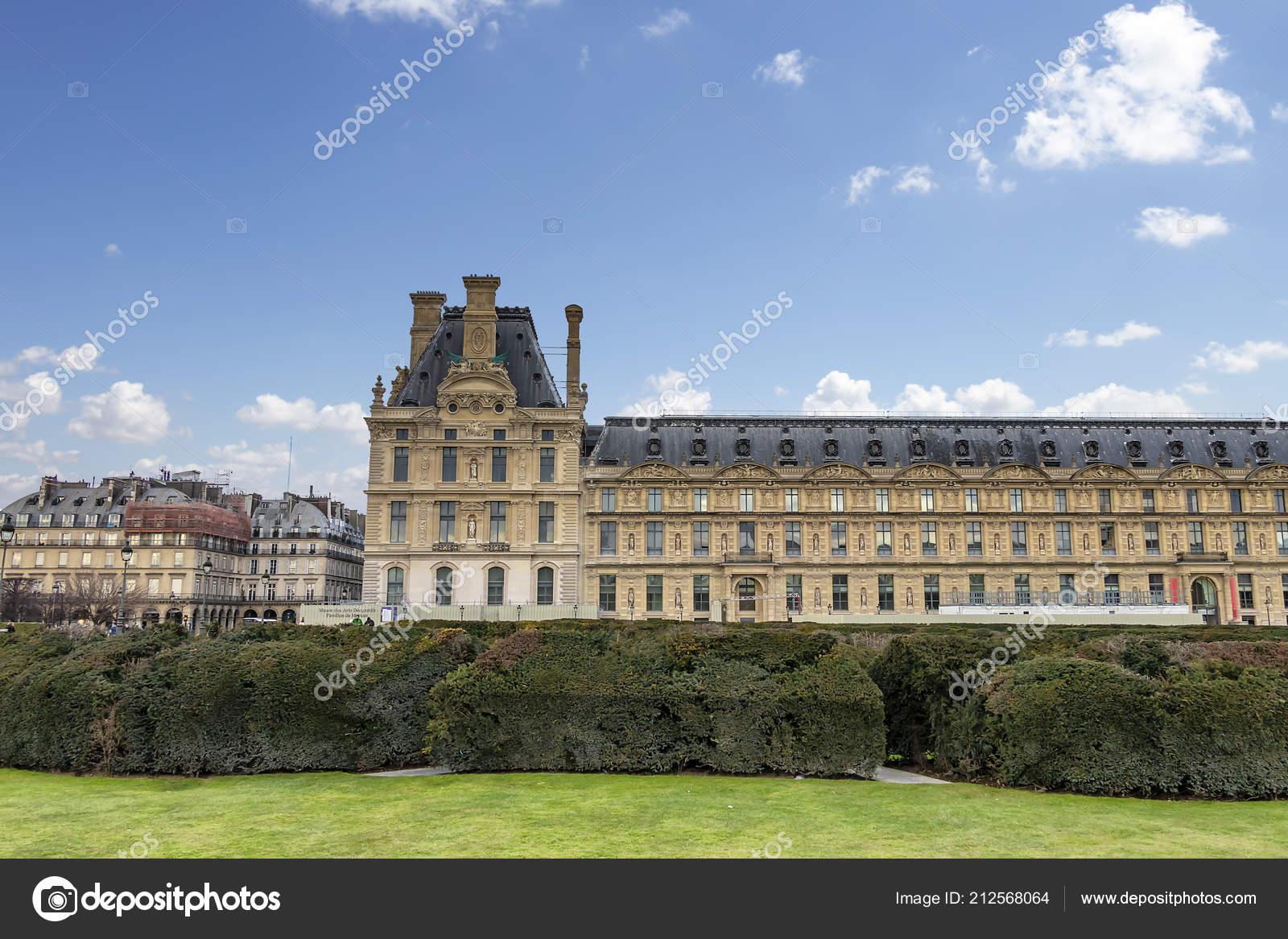 Das Nationalmuseum Fur Dekorative Kunst Paris Frankreich Stockfoto