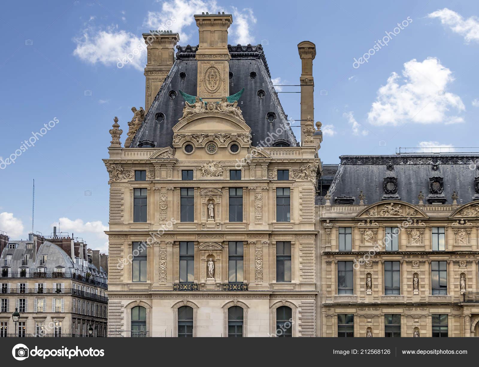 National Museum Decorative Arts Paris France Stock Photo