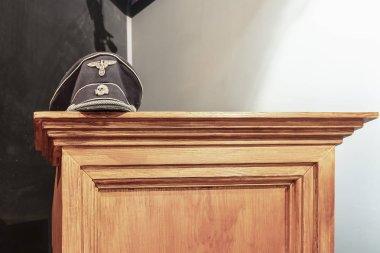 Schutzstaffel  (SS) skull hat
