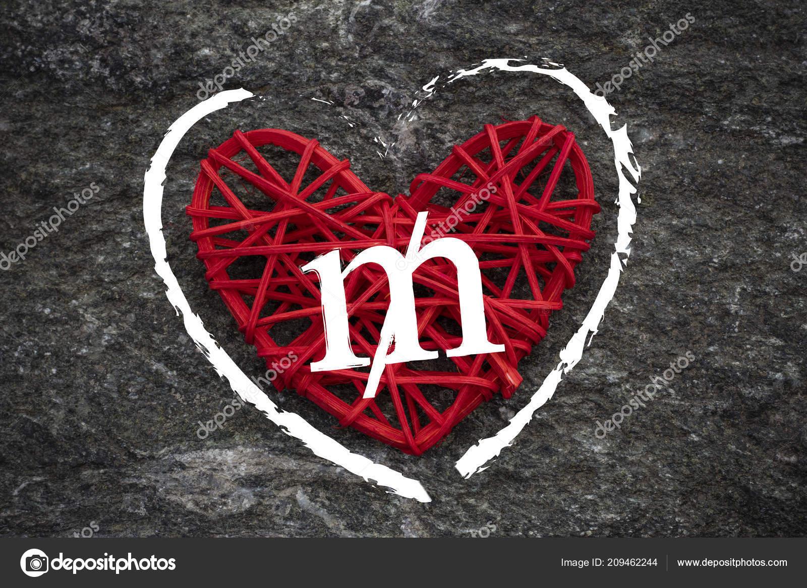 Love Money Usa Mill Symbol Red Heart Love Theme — Stock