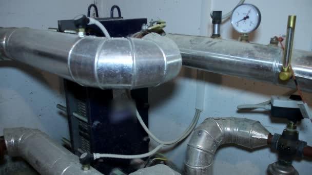 Instalace systému v Pump Room
