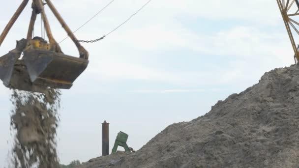 Port rypadlo uvolní písek člun, 4k
