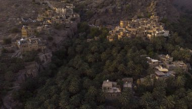 village of Misfat Al Abereen in Hajjar Mountains in Oman