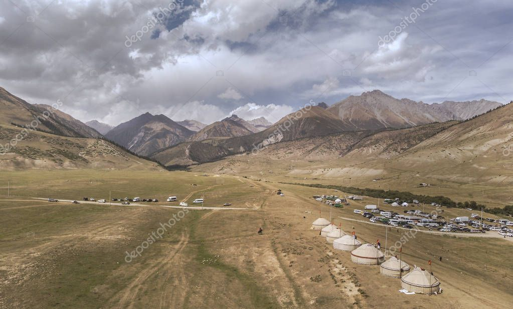 Kyrchyn Gorge, the home of World Nomad Games in Kyrgyzstan 2018