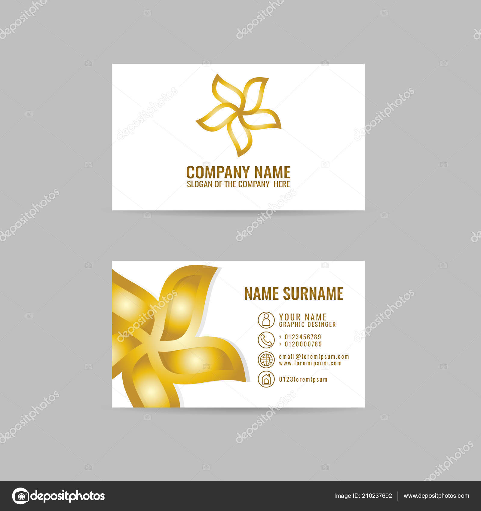 Visitenkarten Design Idee Yoga Logo Vorlage Yoga Symbol