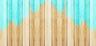 wooden board blue old style abstract background Different Vertical wood. photo