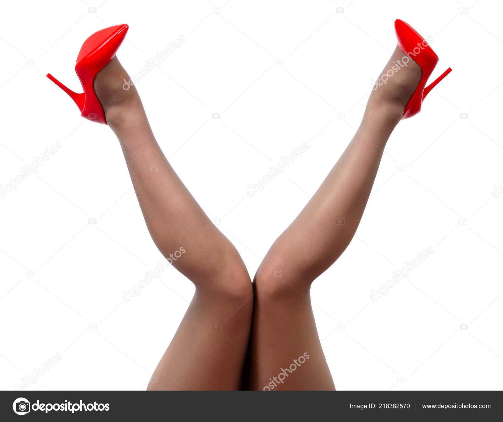 Ножки в белом нейлоне колготки фото новые 9