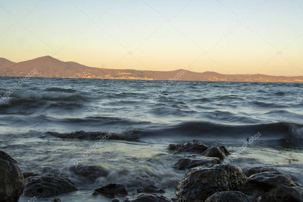 Lake of Bracciano, Rome, Lazio, Italy