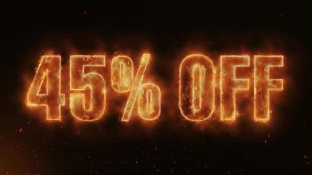 45% OFF Word Hot Burning on Realistic Fire Flames Sparks And Smoke continuous seamlessly loop Animation