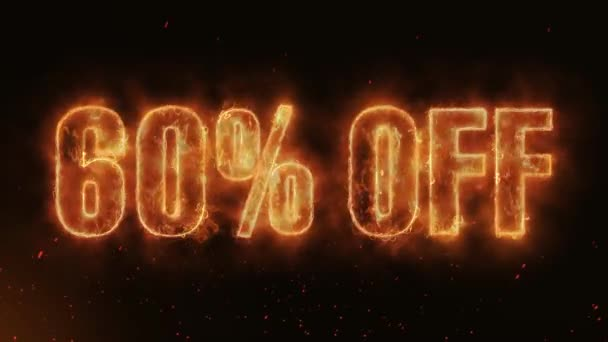 60% OFF Word Hot Burning on Realistic Fire Flames Sparks And Smoke continuous seamlessly loop Animation