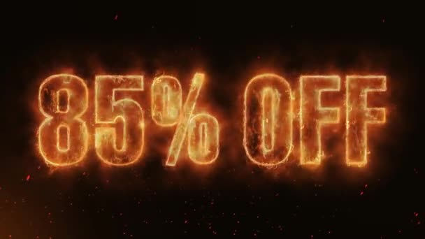85% OFF Word Hot Burning on Realistic Fire Flames Sparks And Smoke continuous seamlessly loop Animation