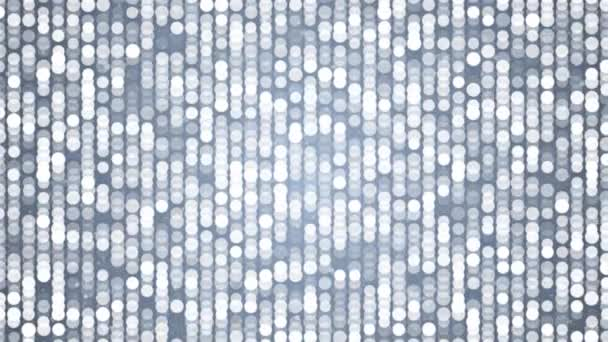 Side blinking dots moving Abstract Flickering Metallic Shining moving particles wall background For Disco party and nightclub concept.
