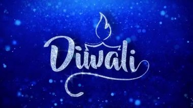 Happy diwali animated wish stock video motionkarma 123011098 happy diwali greeting shiny text wishes blue glitter sparkling glitter m4hsunfo