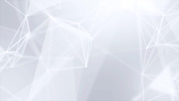 Plesso astratto rete tecnologia business scienza loop