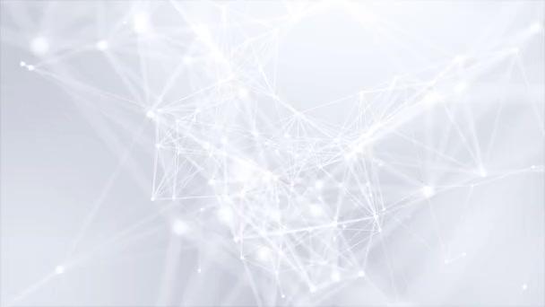 Plesso astratto Fantasy tecnologia ingegneria biologica movimento Loop Background
