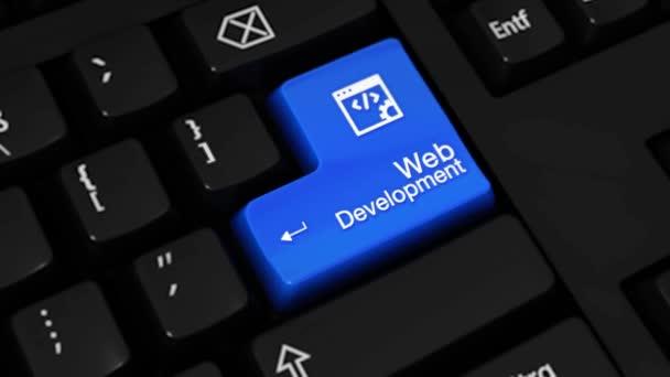 309. web Development rotační pohyb na tlačítko klávesnice počítače