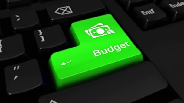 15. rozpočtové kolo pohyb na tlačítko klávesnice počítače