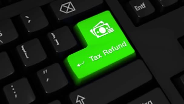 20. daňové refundace rotační pohyb na tlačítko klávesnice počítače