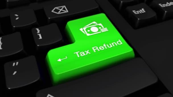 21. vrácení daně kolo pohyb na tlačítko klávesnice počítače