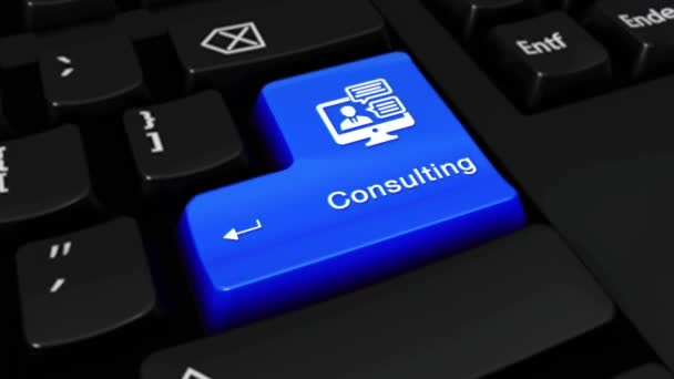 454. konzultační kolo pohyb na tlačítko klávesnice počítače