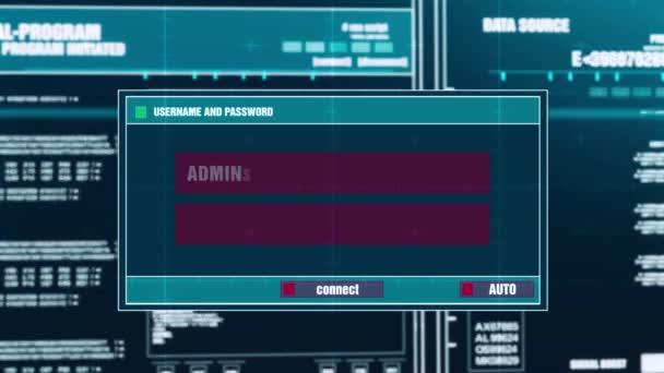 41. firewall porušení varovné upozornění na digitální bezpečnostní upozornění na obrazovce