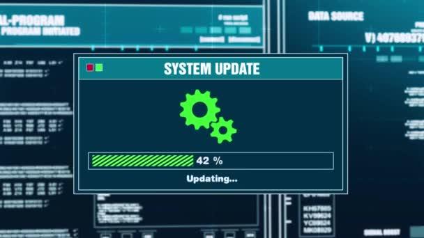 97. systém aktualizace pokrok varovný Message systém aktualizován oznámení na obrazovce