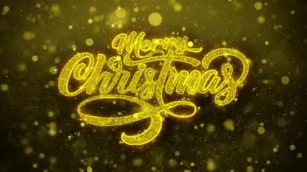 Veselé Vánoce Vánoční přání pozdravy karta, pozvání, oslavu ohňostroj smyčce