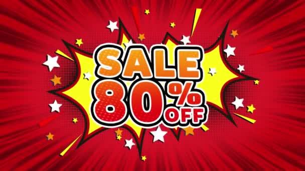 Sale 80 Off Word Retro Cartoon Comic Bubbles Seamless loop